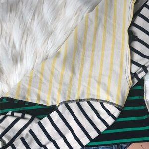 J. Crew Tops - J. Crew summer long sleeve striped shirt